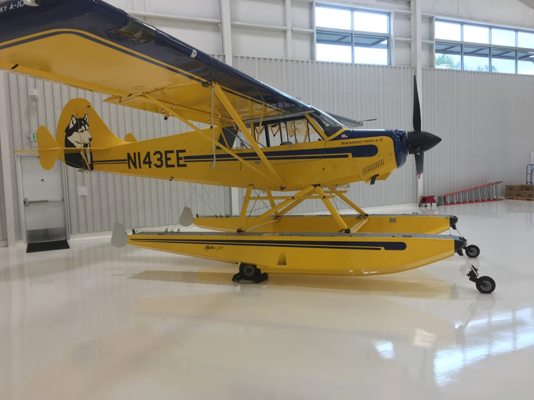 Modern Aviation Fbo For Sale 2014 Aviat Husky Side View