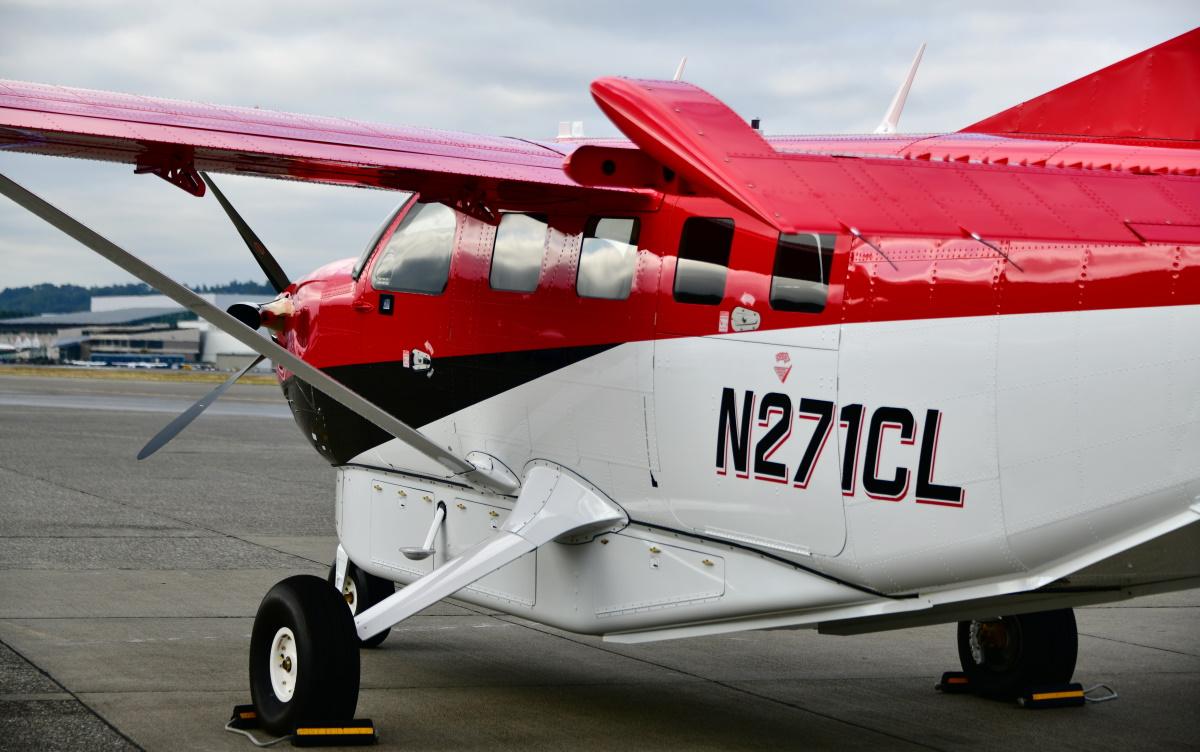 Modern Aviation Fbo For Sale 2019 Kodiak 100, Series Ii Side View