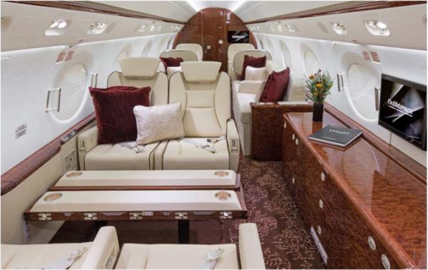 G550 Cabin