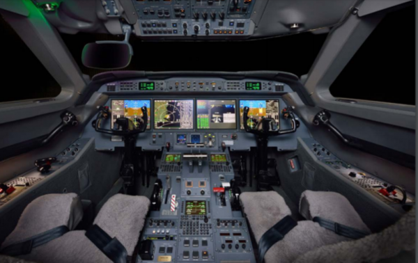 G550 Flight Deck